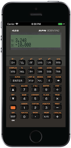 Free42 An Hp 42s Calculator Simulator